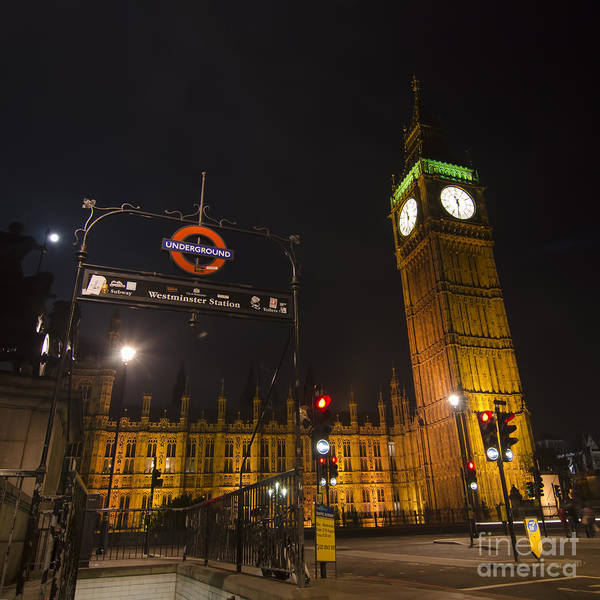 Stamford Bridge Wall Art - Photograph - Westminster London by Steev Stamford