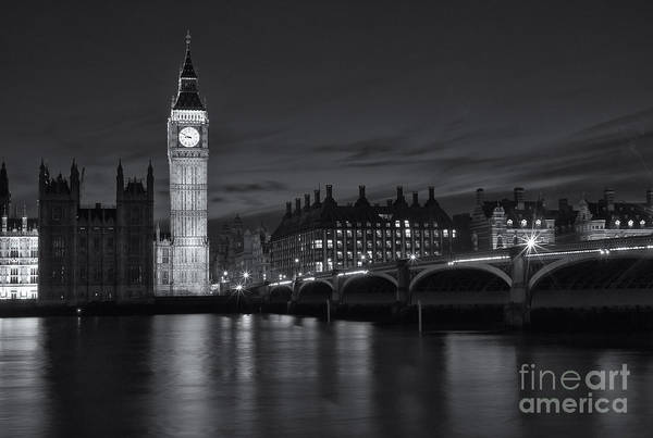 Photograph - Westminster Twilight IIi by Clarence Holmes