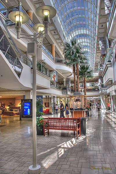 Photograph - Westside Pavilion by Chuck Staley