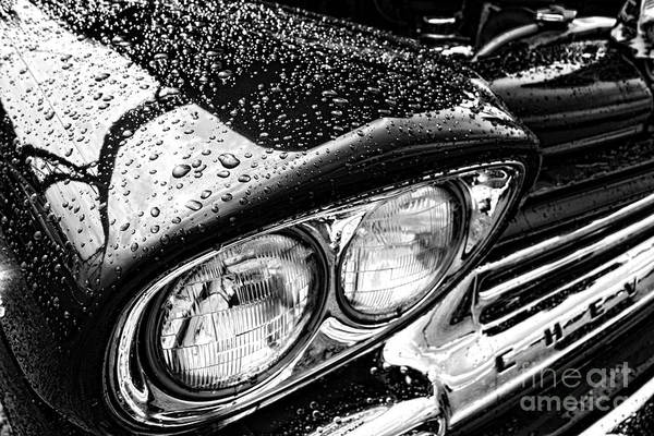 Photograph - Wet Chevy by Olivier Le Queinec