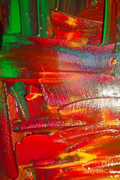 Photograph - Wet Paint 107 by Jacqueline Athmann