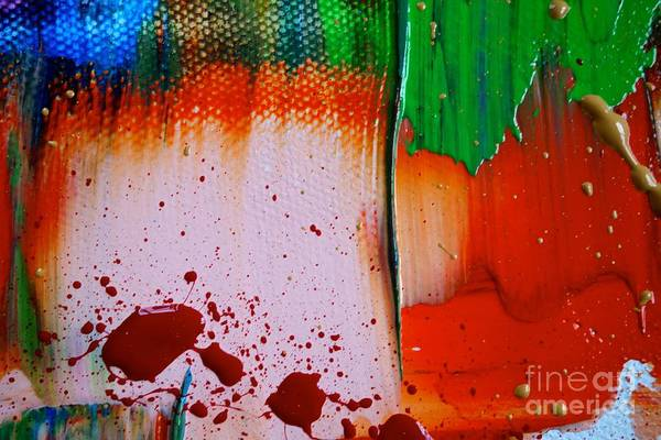 Photograph - Wet Paint 116 by Jacqueline Athmann
