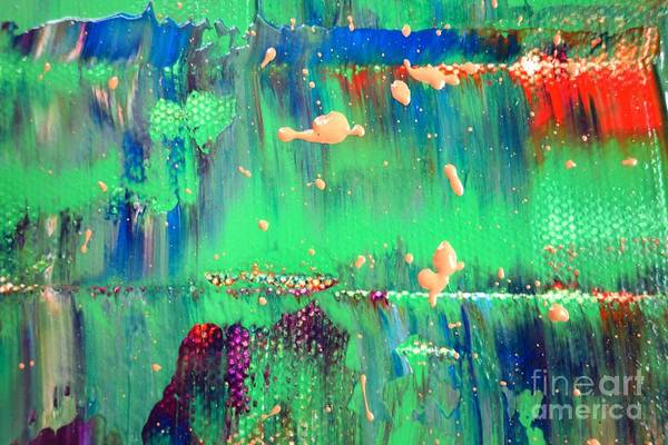 Photograph - Wet Paint 118 by Jacqueline Athmann