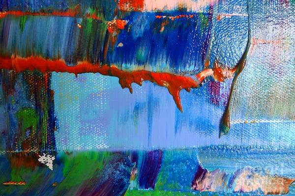Photograph - Wet Paint 119 by Jacqueline Athmann