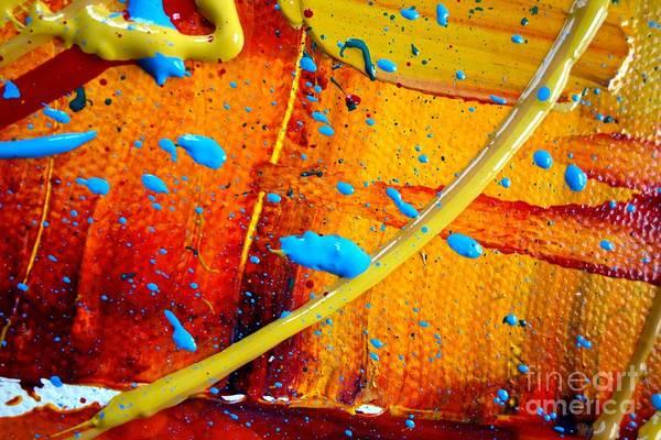 Photograph - Wet Paint 124 by Jacqueline Athmann