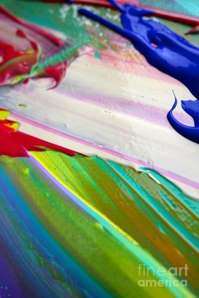 Photograph - Wet Paint 34 by Jacqueline Athmann