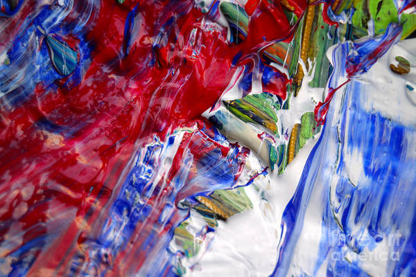 Photograph - Wet Paint 60 by Jacqueline Athmann