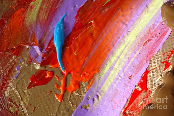 Photograph - Wet Paint 72 by Jacqueline Athmann