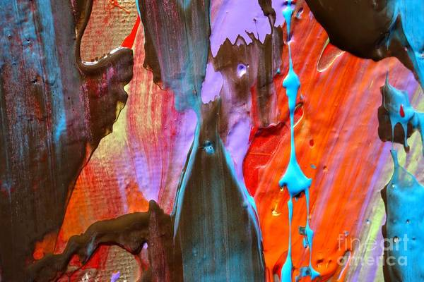 Photograph - Wet Paint 75 by Jacqueline Athmann