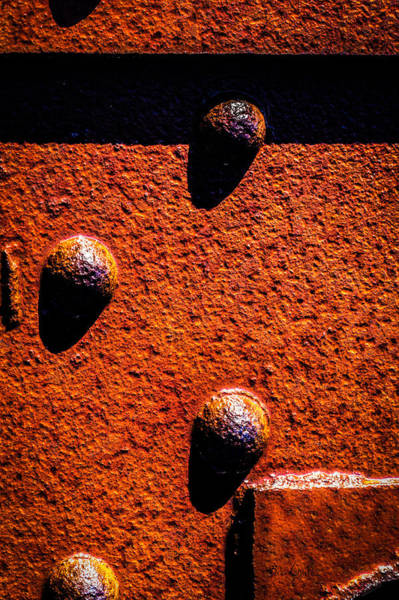 Photograph - Wet Rivets  by Bob Orsillo
