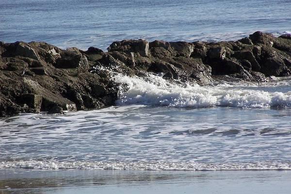 Photograph - Wet Rocks by Ralph Jones