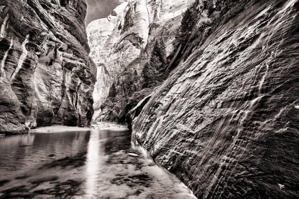 Wall Art - Photograph - Wet Wall Bn by Juan Carlos Diaz Parra