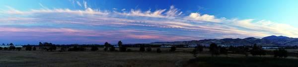 Wall Art - Photograph - Wetlands Sunset Panorama by Michael Courtney