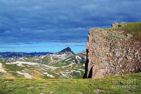 Photograph - Wetterhorn Peak by Kate Avery
