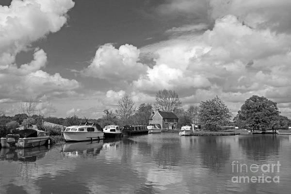 Wey Canal Ripley Surrey Art Print