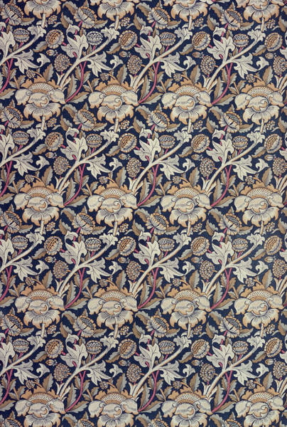 Elaborate Wall Art - Tapestry - Textile - Wey Design by William Morris