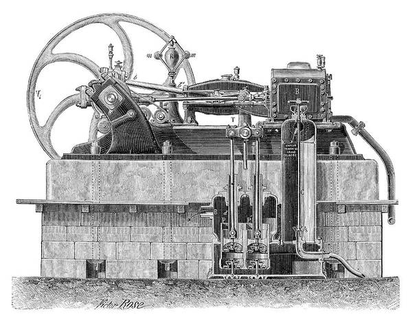 Condenser Wall Art - Photograph - Weyher-richemond Engine by Science Photo Library