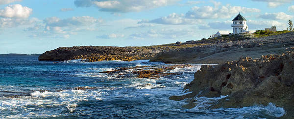 Photograph - Whale Point Castle And Rocky Shore by Duane McCullough