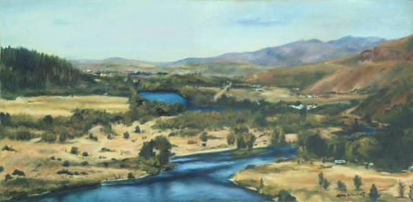 Painting - What A Dam Site by Lori Brackett