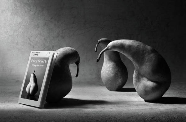 Pears Wall Art - Photograph - What Are You Reading, Son?! by Artistname