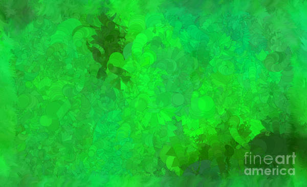 Nonprofit Digital Art - What Do You Want Green by Holley Jacobs