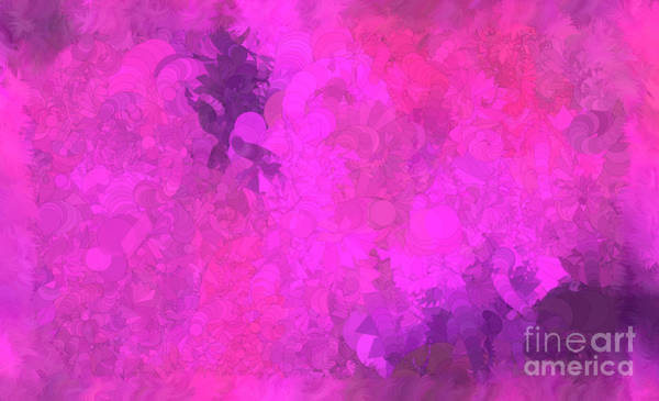 Nonprofit Digital Art - What Do You Want Pink by Holley Jacobs