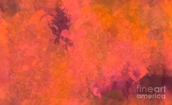 Nonprofit Digital Art - What Do You Want Red by Holley Jacobs