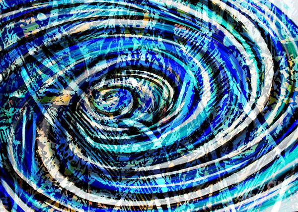Digital Art - What Goes Around Comes Around IIi by Yael VanGruber