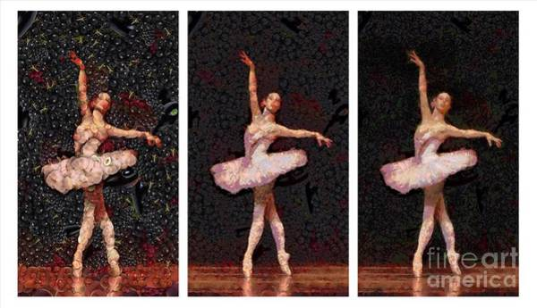 Painting - What Is A Ballerina Made Of by Catherine Lott