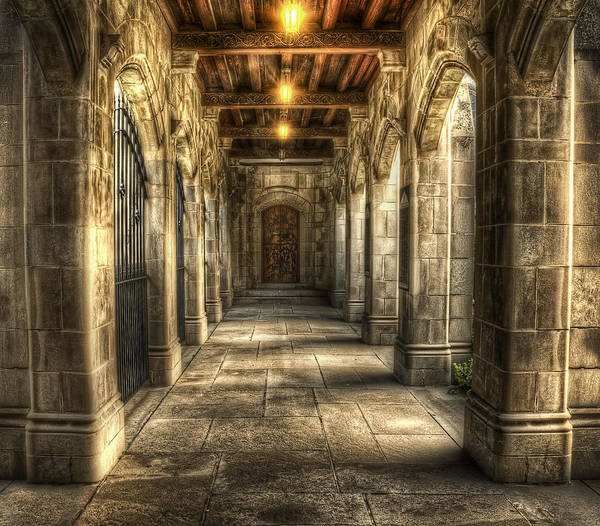 Columns Photograph - What Lies Beyond by Scott Norris