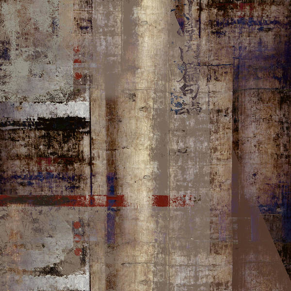 Cement Wall Art - Photograph - What Remains by Carol Leigh