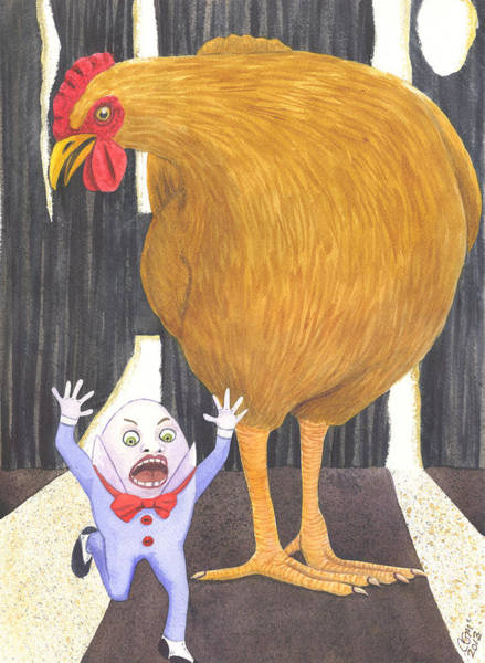 Painting - What The Cluck by Catherine G McElroy