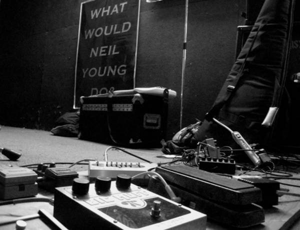 What Would Neil Young Do? Art Print