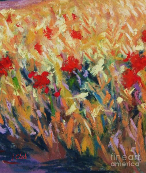 Wheat Painting - Wheatfield by John Clark