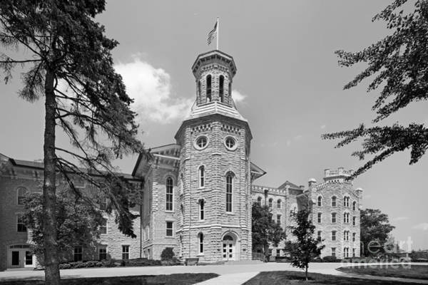 Protestant Photograph - Wheaton College Blanchard Hall by University Icons