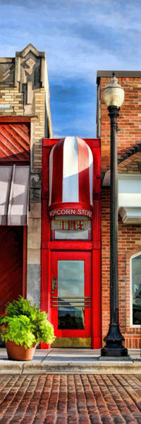 Painting - Wheaton Little Popcorn Shop Panorama by Christopher Arndt