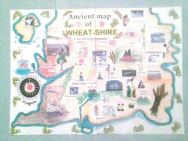 Kindle Wall Art - Digital Art - Wheatshires Aincient Map by George Vernon