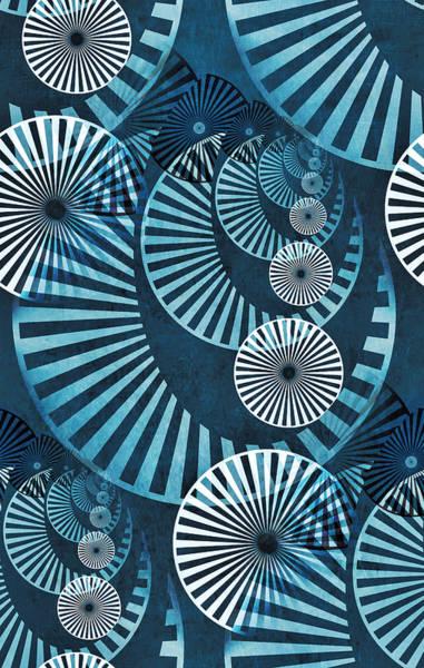 Digital Art - Wheel In The Sky 1 by Angelina Tamez