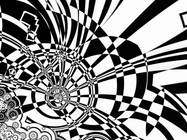 Digital Art - Wheel Tangle by Frederic Durville