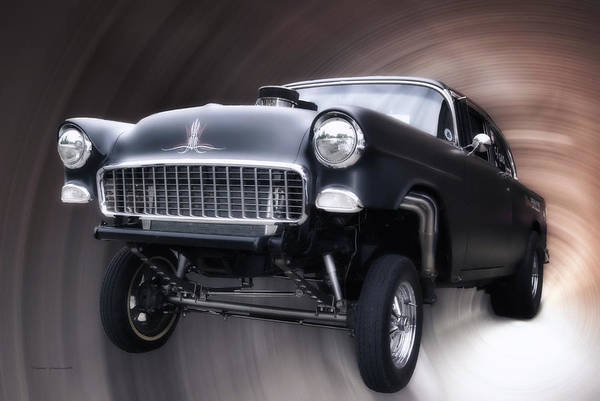 Wall Art - Photograph - Wheelie Time by Thomas Woolworth