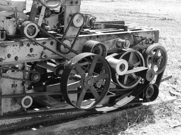 Photograph - Wheels Gears And Cogs by Mary Mikawoz