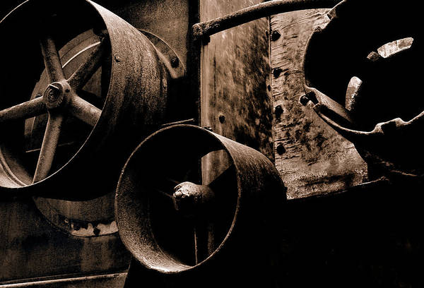 Photograph - Wheels Of Industry by Steven Milner