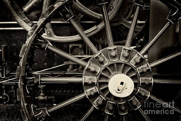 Photograph - Wheels by Paul W Faust -  Impressions of Light