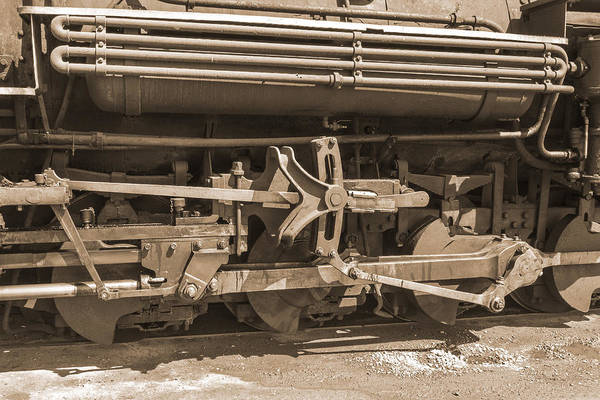 K-36 Photograph - Wheels Rods And Things Sepia by Jim Baker
