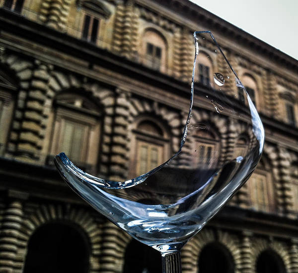 Photograph - When Bad Things Happen To Good Wine Glasses by Alex Lapidus