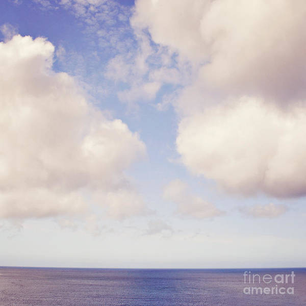 Wall Art - Photograph - When Clouds Meet The Sea by Lyn Randle