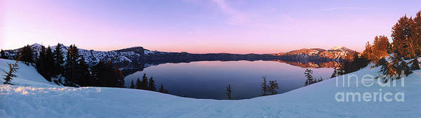 Photograph - When Evening Calls At Crater Lake by Beve Brown-Clark Photography