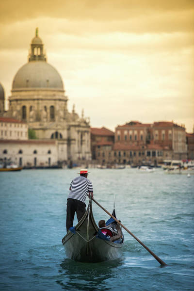 Gondola Photograph - When In Venice... | Venezia Explore by Copyright Lorenzo Montezemolo