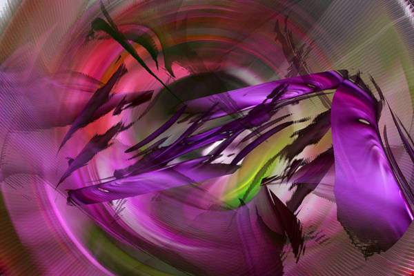 Digital Art - When Reality Strikes - Abstract by Roy Erickson