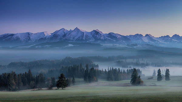 Wall Art - Photograph - When Silence Is Sneaking Below The Mountains by Peter Svoboda, Mqep